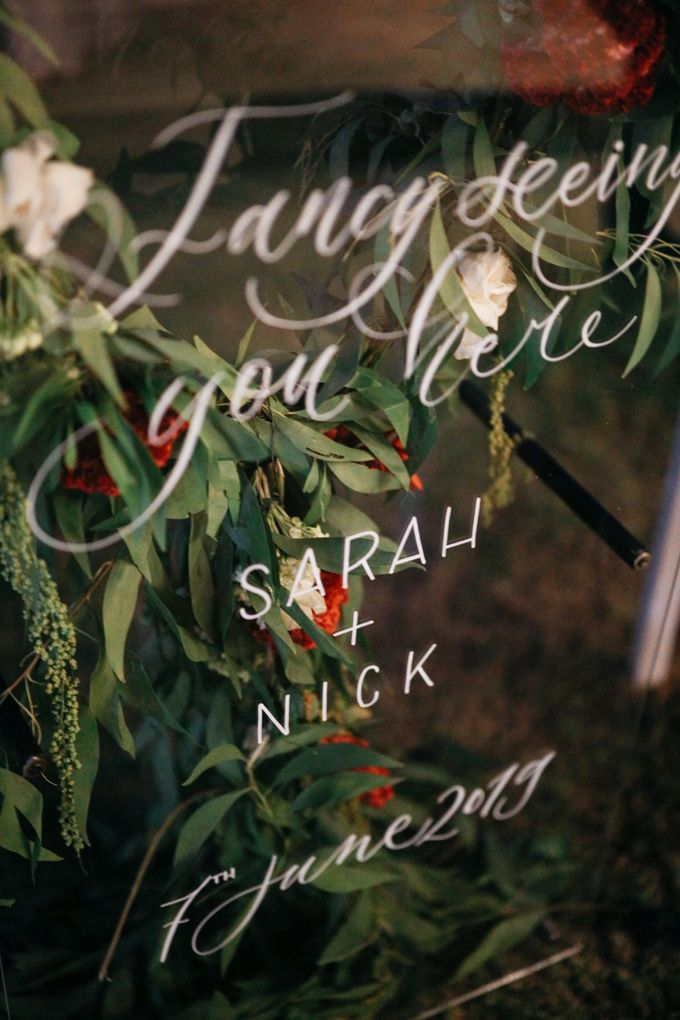 The Wedding of Sarah and Nick - 3rd Album by Villa Vedas - 005