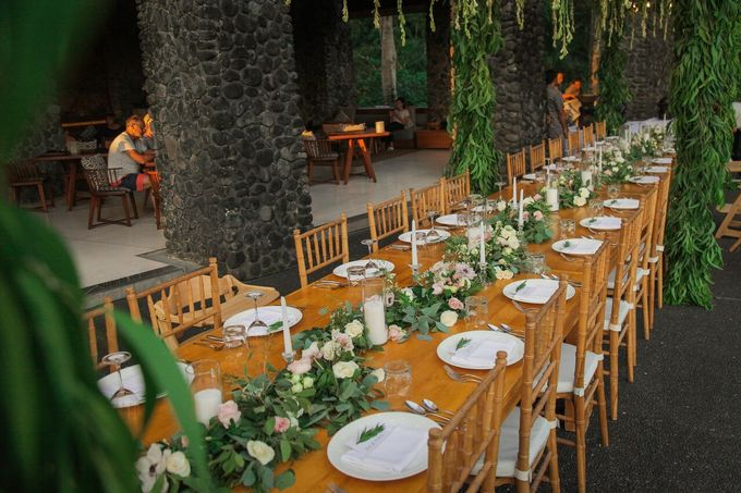 Sweet Garland Dinner by CITTA Wedding - 036
