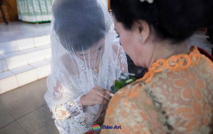 Wedding story of Ade & Martin by Video Art - 003