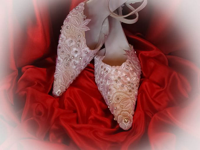 BRIDAL SHOES by Pamela Falli - 015