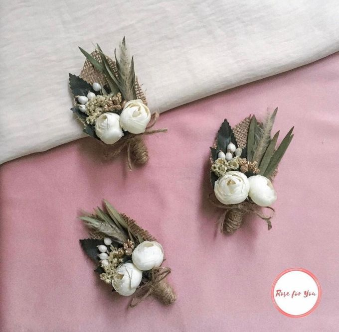 Boutonniere & Corsage by Rose For You - 002