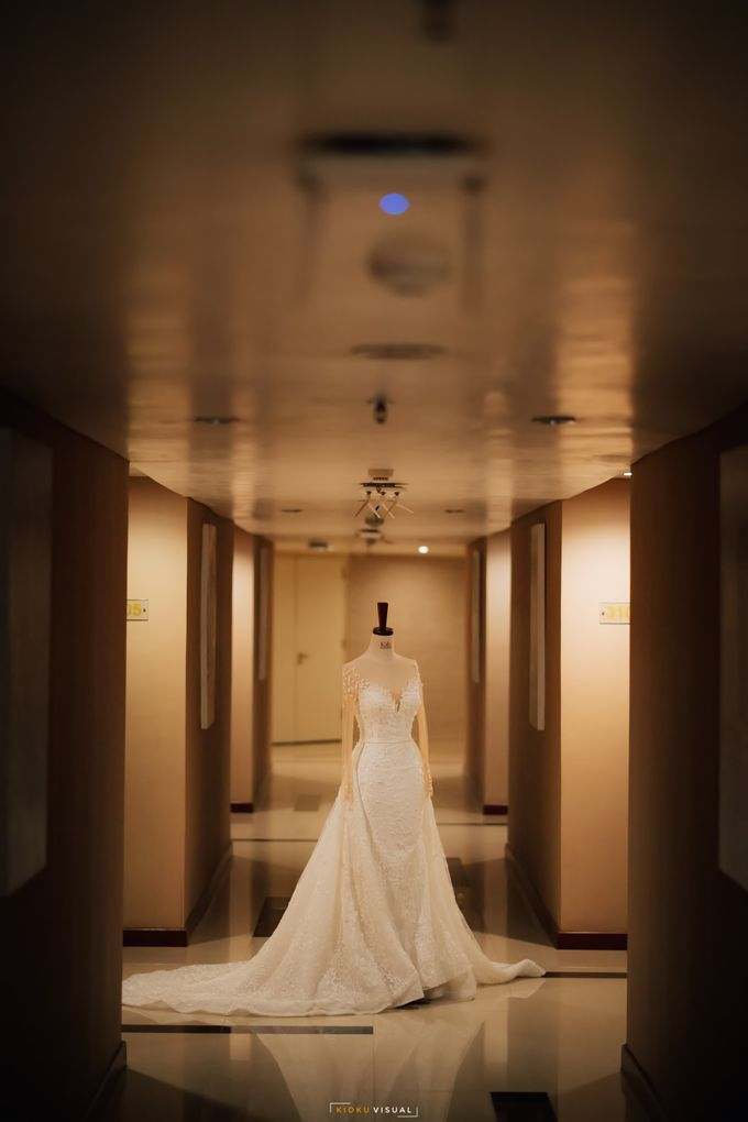 The Wedding Of Christian and Claudia by Kate Bridal and Couture - 009