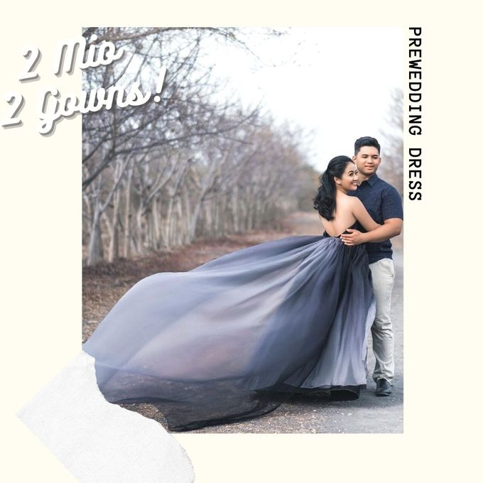 2 juta 2 Gown (Promo October) by iLook ( Makeup & Couture ) - 002