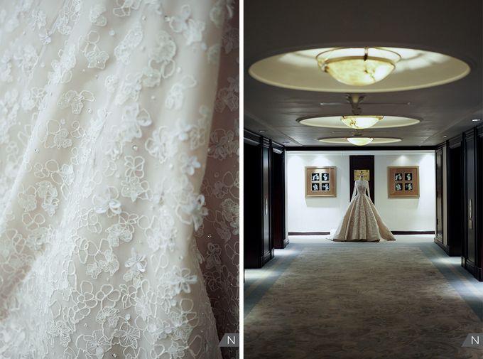 Felix & Hanna Wedding by Shangri-La Hotel - 002