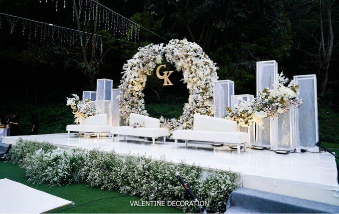 Grady & Kezia Wedding Decoration by Valentine Wedding Decoration - 002