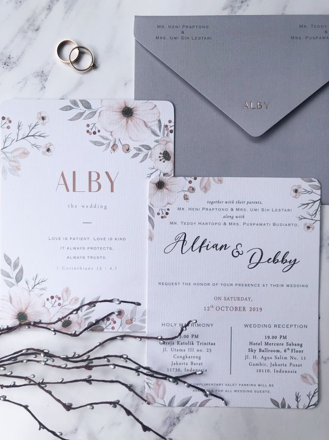 The Wedding of Alfian & Debby by SentimeterCard - 002