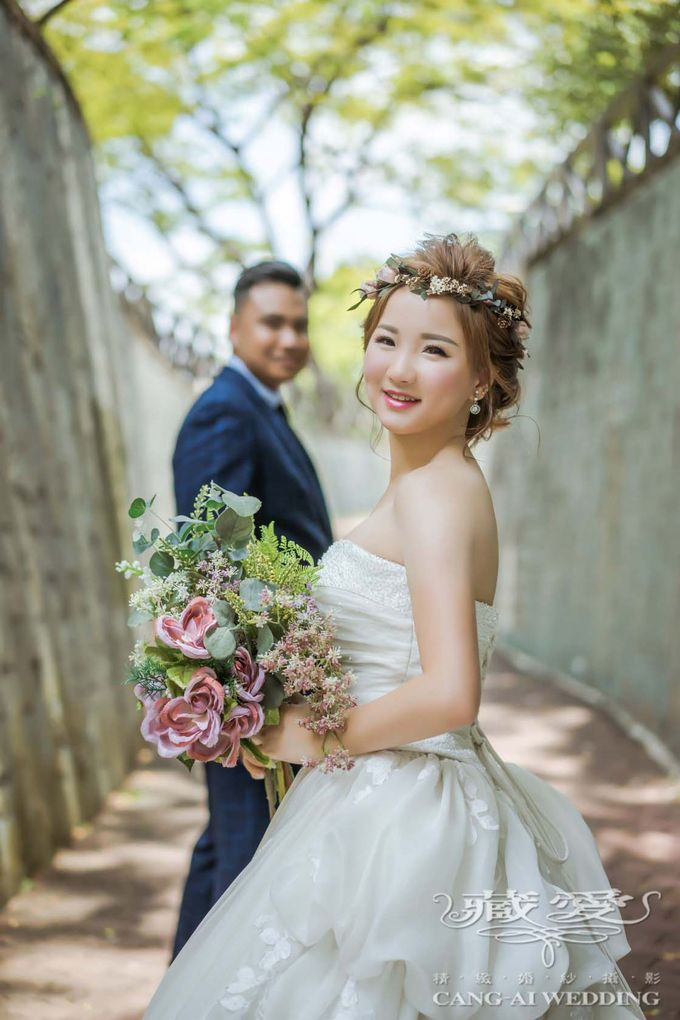 Makeup and Styling of our Brides by Cang Ai Wedding - 019
