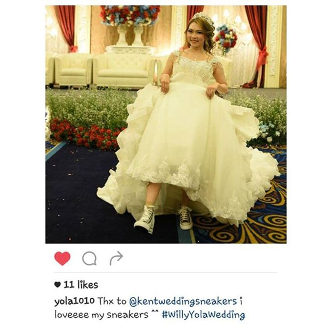 Thank You Our Lovely Customers by Kent Wedding Sneakers - 002