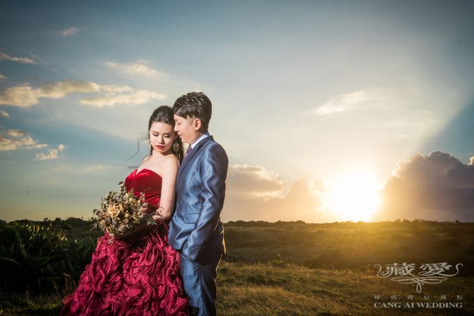 Uniquely Taiwan by Cang Ai Wedding - 007