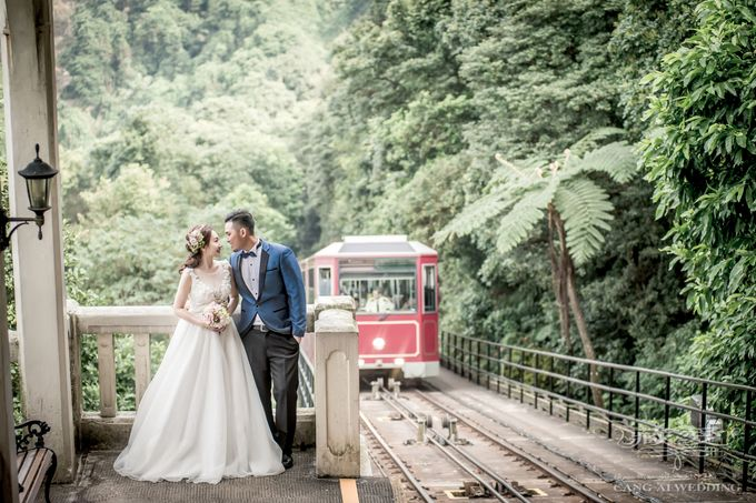Streets of HK by Cang Ai Wedding - 002