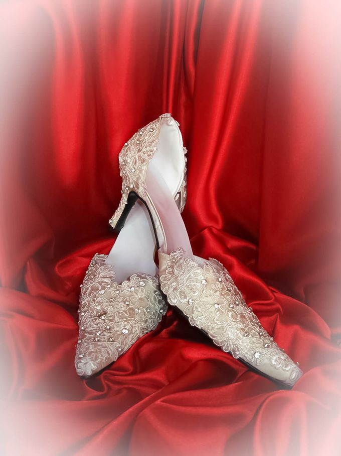 BRIDAL SHOES by Pamela Falli - 037