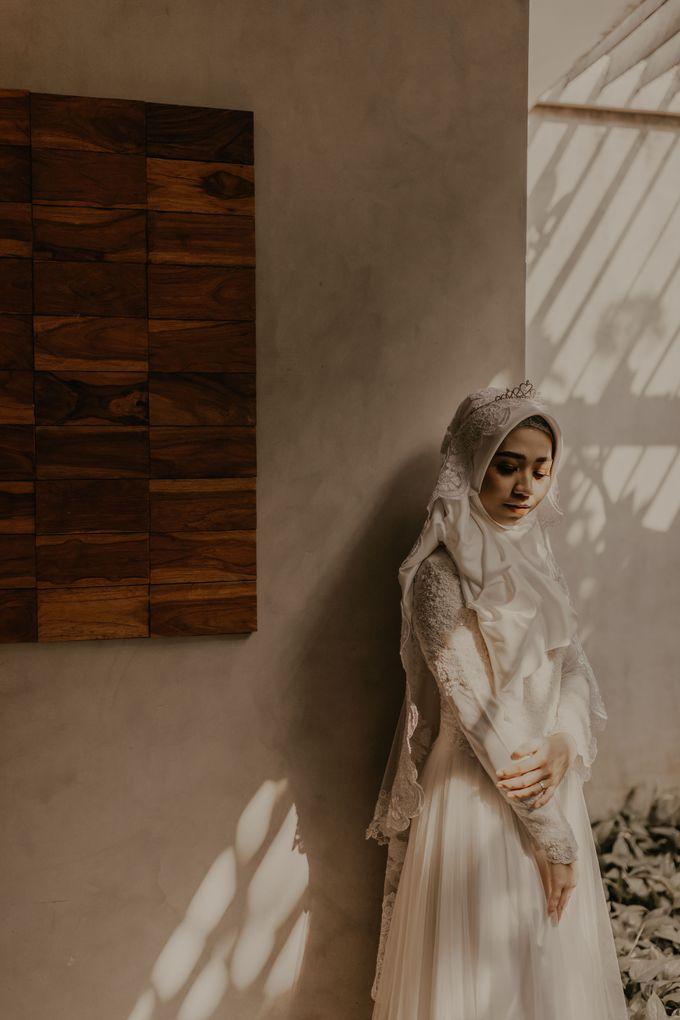 Aisyah & Aziz Wedding at Azila Villa by AKSA Creative - 014