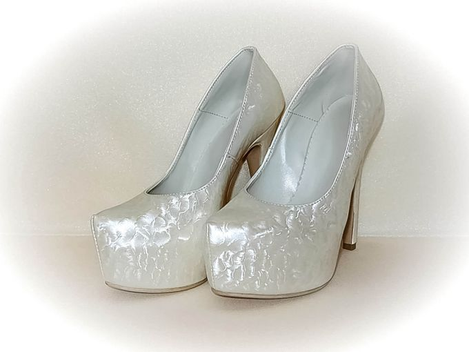BRIDAL SHOES by Pamela Falli - 010