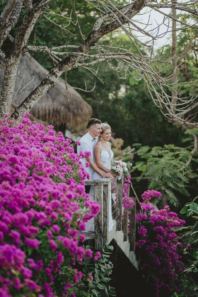 Trav & Mel Wedding by KAMAYA BALI - 001