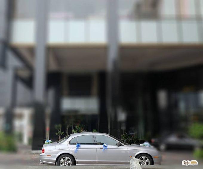 SEWA MOBIL PENGANTIN DAN KELUARGA JAKARTA - MERCEDES ALPHARD JAGUAR VELLFIRE by Fendi Wedding Car - 001