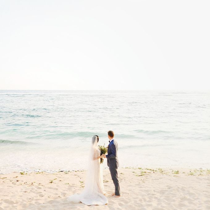 The Wedding of Ben & Angie by THE UNGASAN CLIFFTOP RESORT BALI - 001