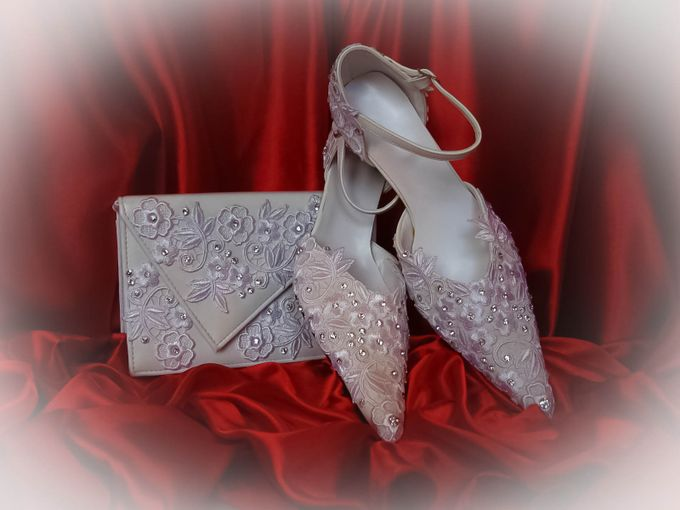 BRIDAL SHOES by Pamela Falli - 016