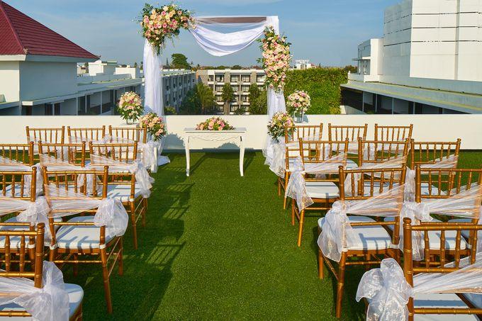 Rooftop Wedding by Courtyard by Marriott Bali Seminyak - 002