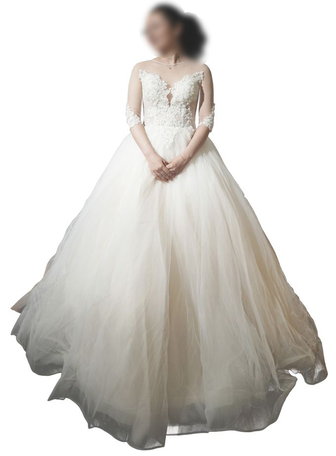Bridal Gown Ivory by TomoSunyc Trading Inc - 003