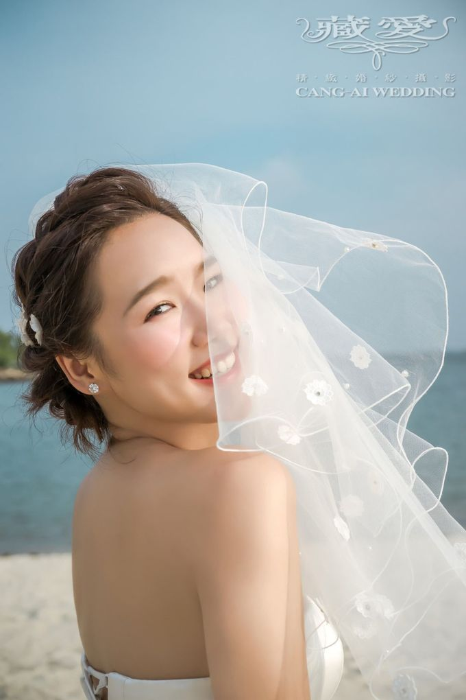 Makeup and Styling of our Brides by Cang Ai Wedding - 014