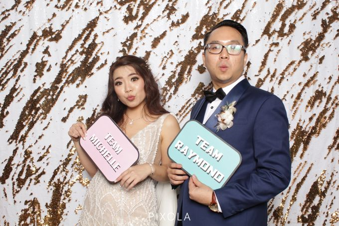 Raymond & Michelle by PIXOLA Photo Booth - 002