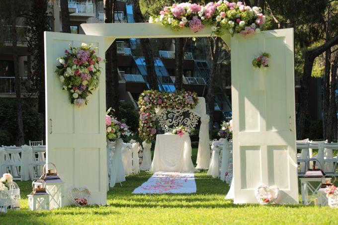 Tatyana & Vladimir Kazakh Wedding in Antalya by Wedding City Antalya - 003