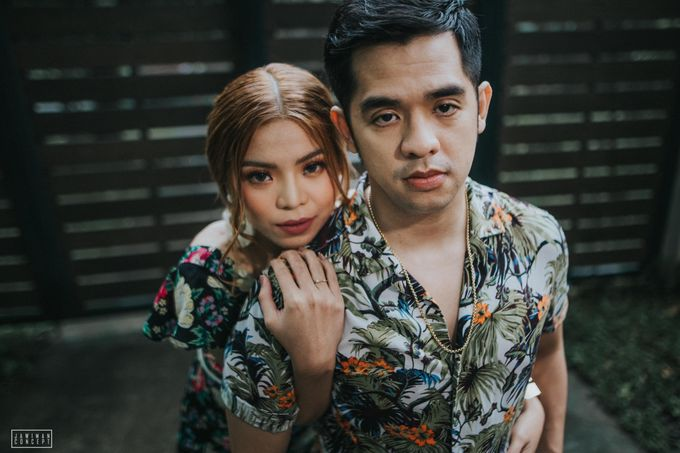 Fred and Rhegs Prenup Photo Session at Munting Gubat Tanay Rizal by The Jawiman Concept - 003