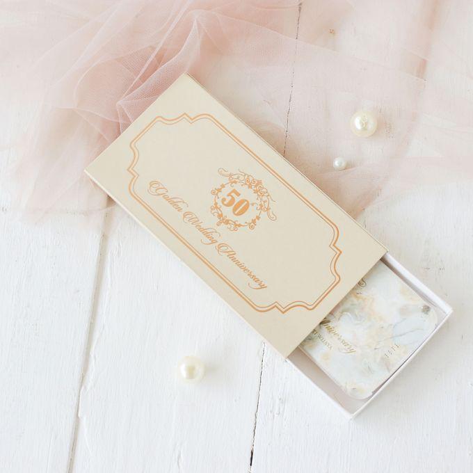 Golden Wedding Anniv - Custom powerbank by PORTÉ by Clarin - 003