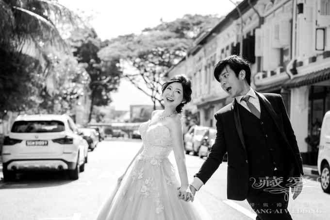 On the casual street by Cang Ai Wedding - 001