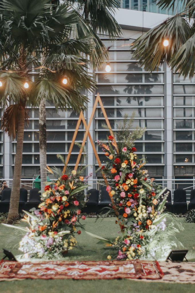 Wedding of Keyko & Malikul by Financial Club Jakarta - 008