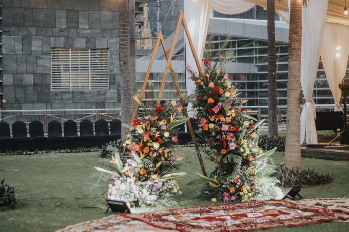 Wedding of Keyko & Malikul by Financial Club Jakarta - 009