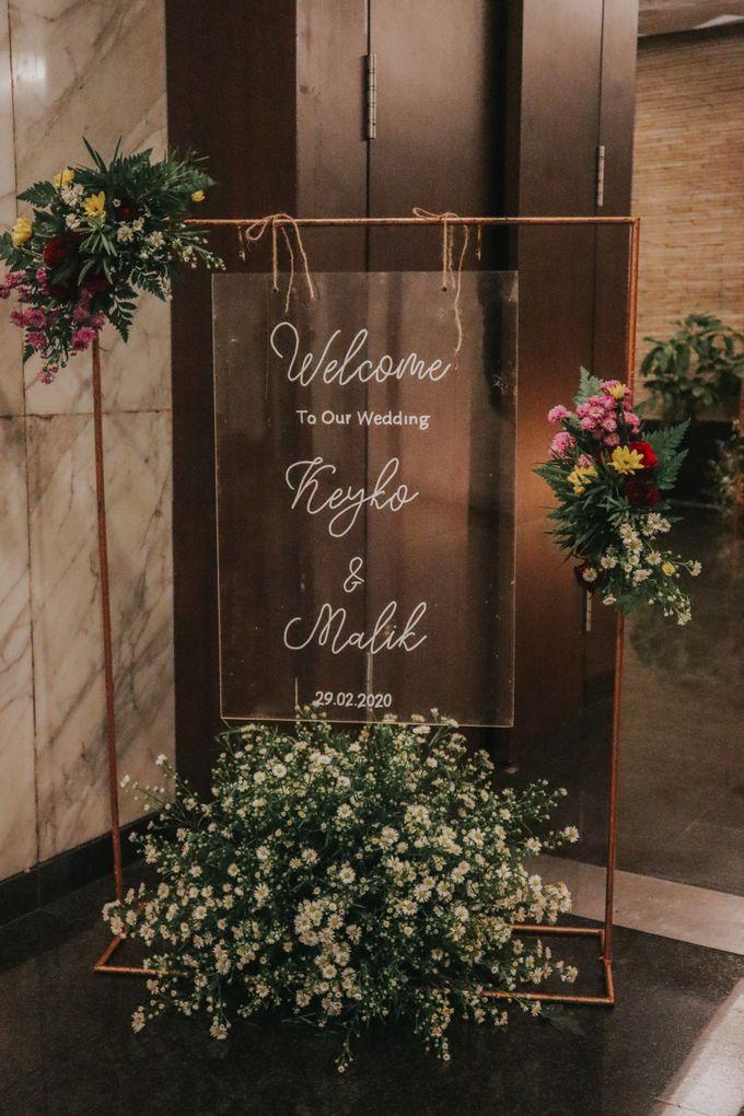 Wedding of Keyko & Malikul by Financial Club Jakarta - 001