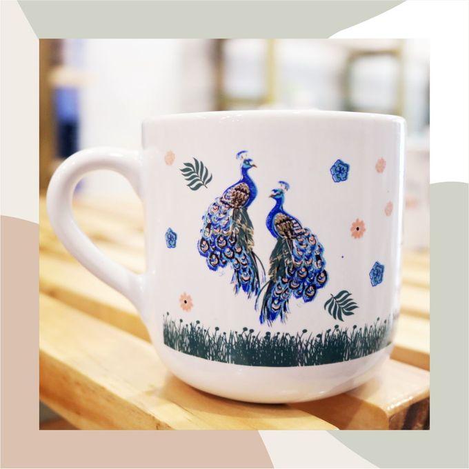MUG TEA WEDDING H & S by Mug-App Wedding Souvenir - 001