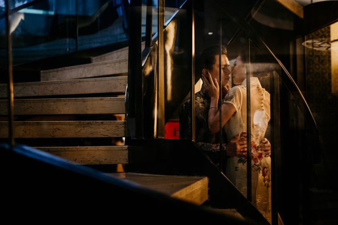 The Wedding of Leon & Audrey by Hotel Indonesia Kempinski Jakarta - 019