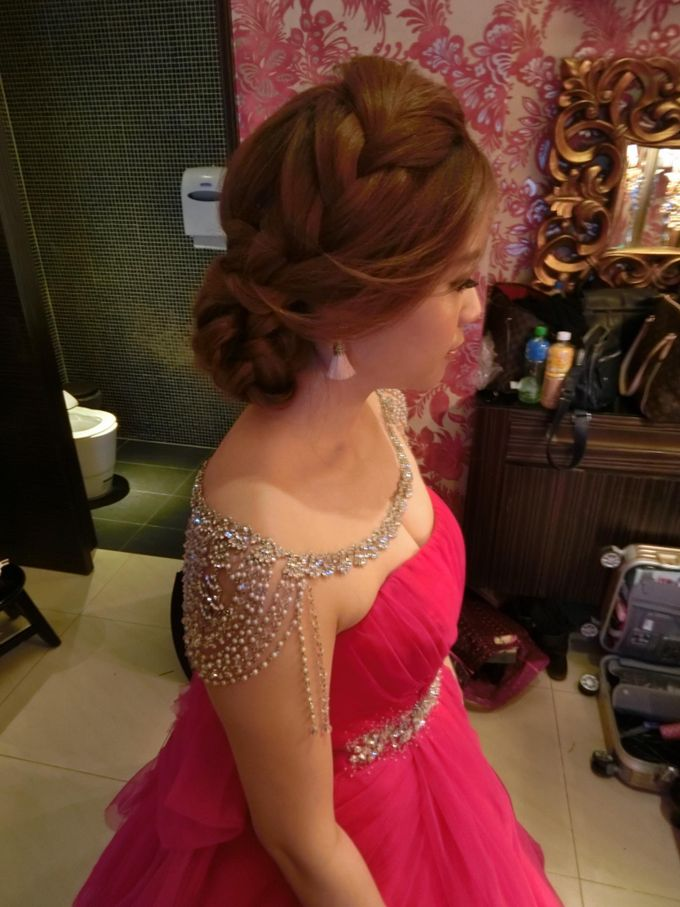 Johor Make Up and hairdo for wedding by MEB Entertainments - 002