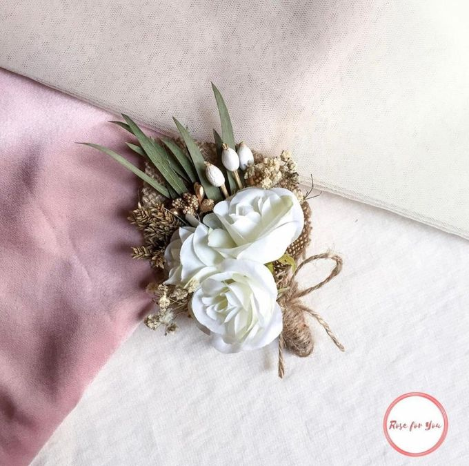 Boutonniere & Corsage by Rose For You - 020