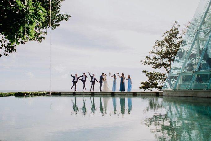 The Wedding of Larrie & Vivienne by BDD Weddings Indonesia - 020