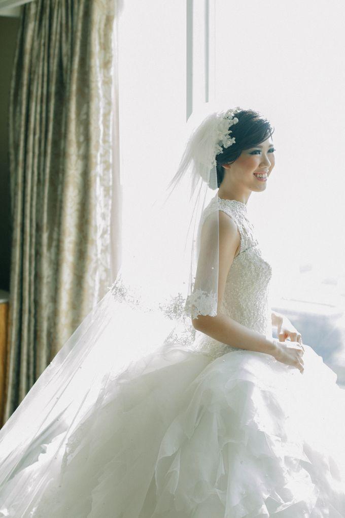 Maurice & Natasya Jakarta Wedding by Ian Vins - 008