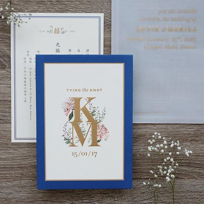 Simple yet stylish in its own way by Tapestry Invitation - 002