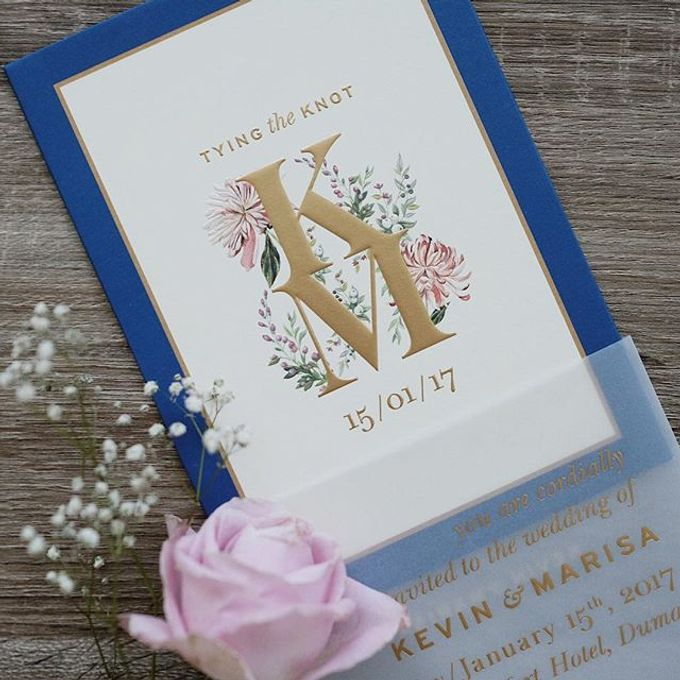 Simple yet stylish in its own way by Tapestry Invitation - 001