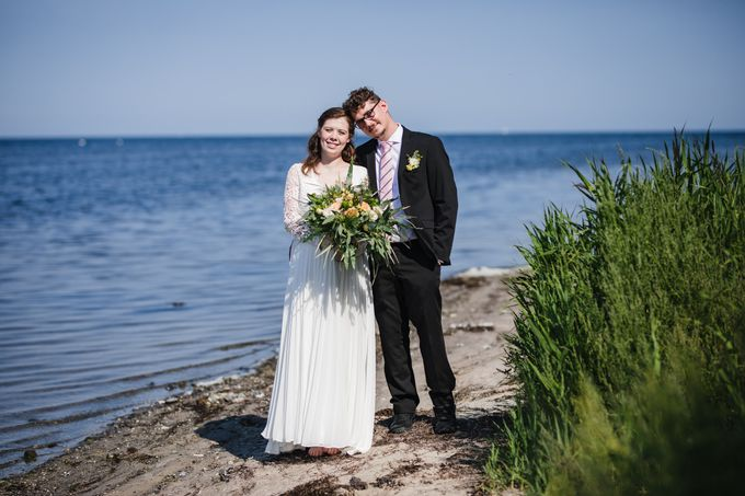 Relaxed Danish Wedding in Nature by Ieva Vi Photography - 020