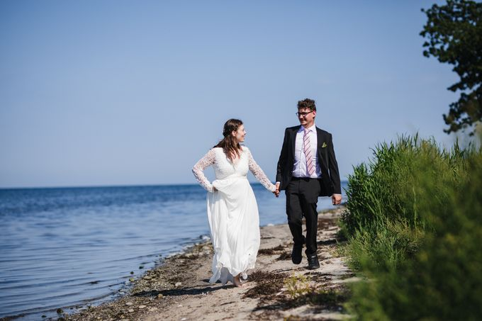 Relaxed Danish Wedding in Nature by Ieva Vi Photography - 023