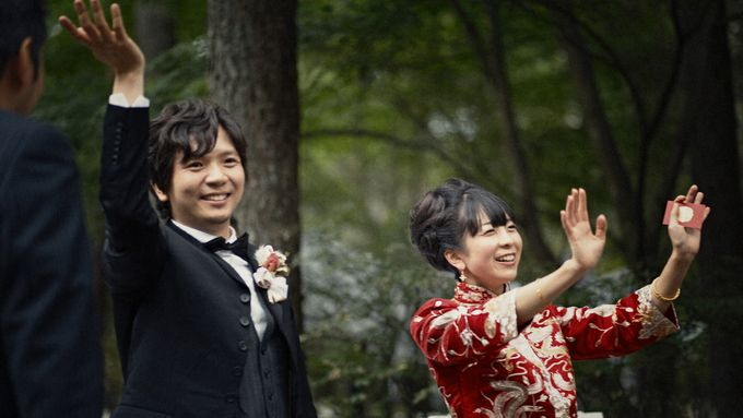 Garden Wedding in provincial Japan by thegaleria - 025