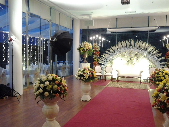 reception at Champaca Wedding Chapel by Padma Hotel Bandung - 006