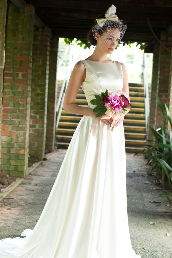 Customised Wedding Gowns Singapore - A Garden Dream by adellefrances ...