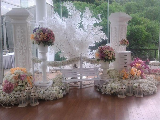 reception at Champaca Wedding Chapel by Padma Hotel Bandung - 007