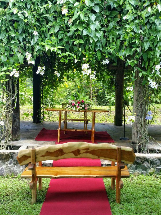 Intimate Garden Wedding by Gintung Pakpak Eco Park - 001