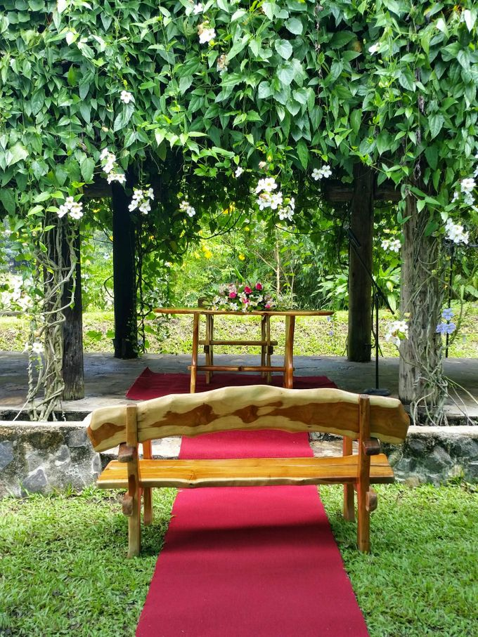 Intimate Garden Wedding by Gintung Pakpak Eco Park - 002