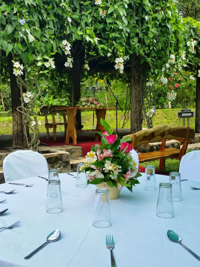Intimate Garden Wedding by Gintung Pakpak Eco Park - 004