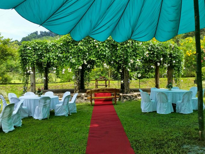 Intimate Garden Wedding by Gintung Pakpak Eco Park - 008